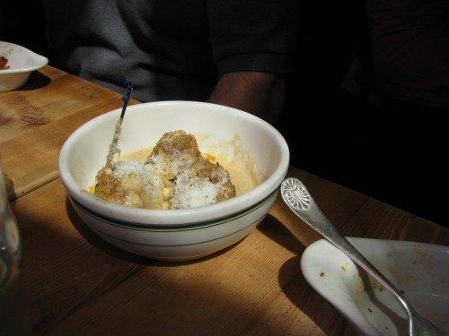 meatballs creamy parmasean sauce