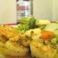 Shrimp Deserves Sauce, You Deserve Beer