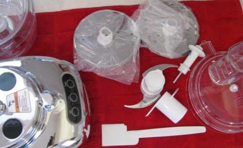 pieces to the kitchenaid food processor