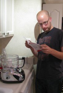 kitchenaid users manual reading