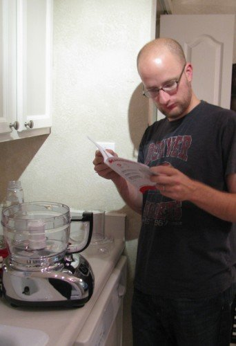 kitchenaid users manual reading