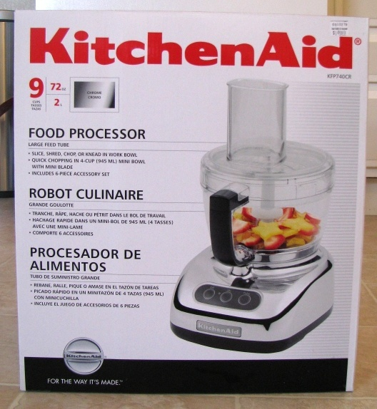 A Review For The Kitchenaid 9 Cup Food Processor Kfp740 Saucy Dipper