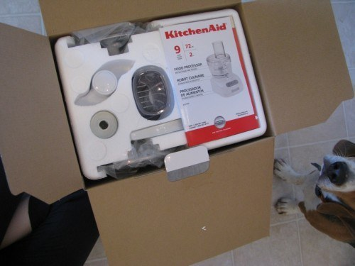 kitchenaid food processor box instructions