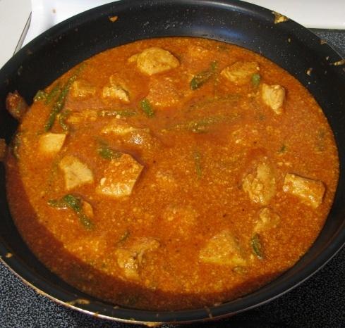 lumpy tikka masala sauce