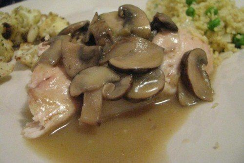 mushroom marsala sauce for chicken breast
