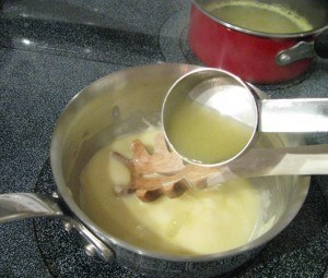 how to make veloute sauce