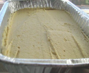 Mediterranean dip with hummus