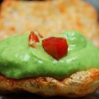 Creamy Guac Deserves Pork Rind Dippers