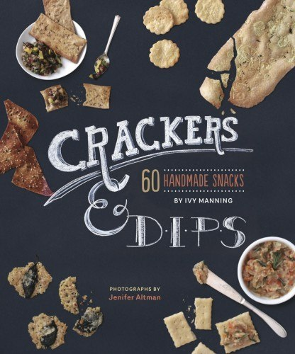 author of crackers & dips