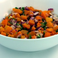 A Native-Inspired Butternut Squash Salsa